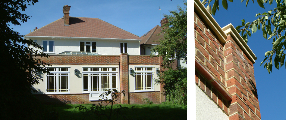 Extension and refurbishment of period house in conservation area