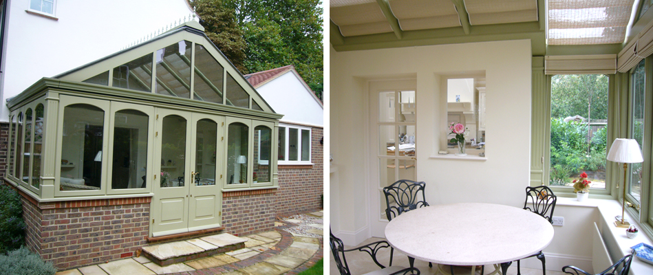 Extension and refurbishment of period house within a conservation area