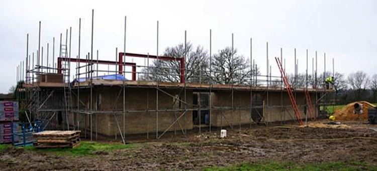 Farm house build