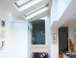 Small extension to terraced period house