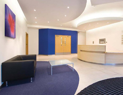 Refurbishment of reception area and common parts of office building