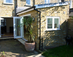 Small extension to end of terraced period house